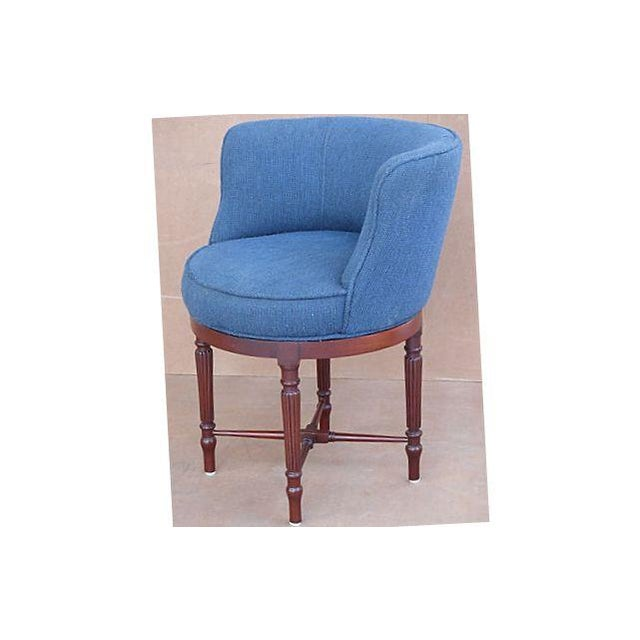 Neoclassical Swivel Vanity Chair - Image 4 of 8