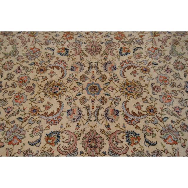 """Karastan 8'8"""" X 10'6"""" Tabriz Room Size Rug Carpet For Sale - Image 11 of 12"""