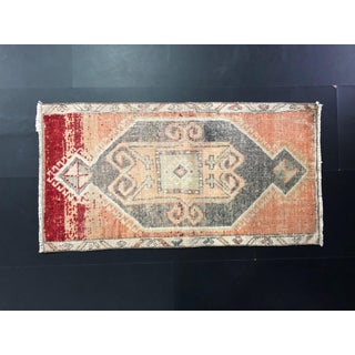 Aztec Turkish Oushak Wool Small Hand Rug Preview