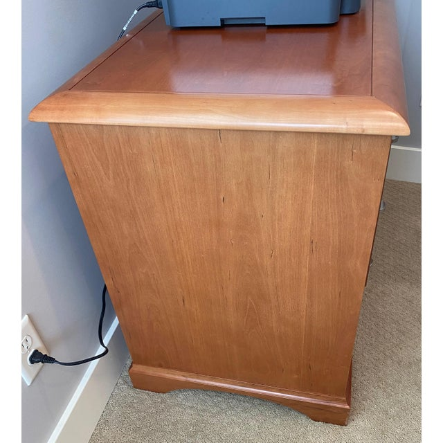 Sligh-Lowry Furniture Co. Pine Sligh Executive Filing Cabinet For Sale - Image 4 of 6