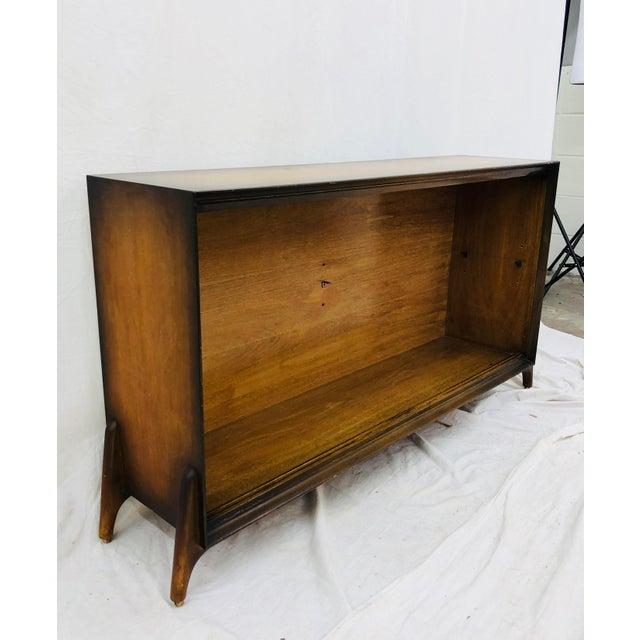 Glass Vintage Mid Century Modern Shelf For Sale - Image 7 of 7