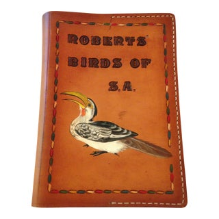 Book of Birds Southern Africa Leather Cover For Sale