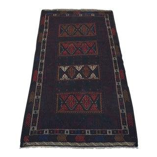 "Handwoven Tribal Baluch Sumak Kilim - 3'6"" x 6'"