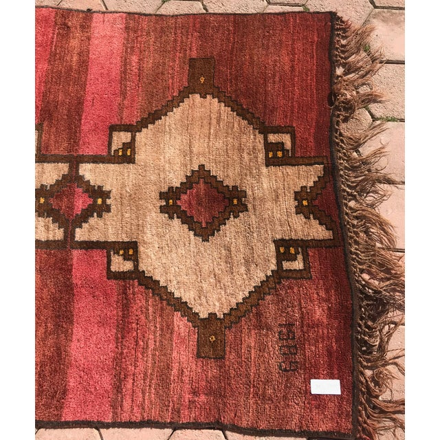 1980s 1980s Handmade Turkish Rug - 4′5″ × 12′4″ For Sale - Image 5 of 7