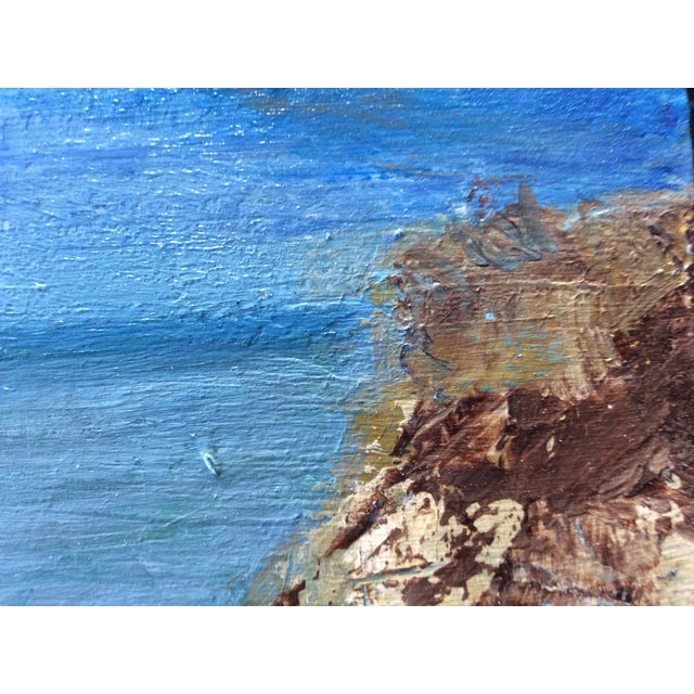 Ballston Beach Abstract Seascape Painting - Image 2 of 5