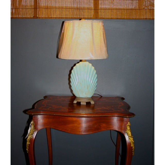 Scallop Seashell Lamp - Image 3 of 7