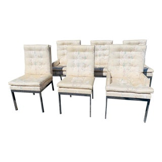 Mid-Century Modern Milo Baughman Dining Chairs - Set of 6 For Sale