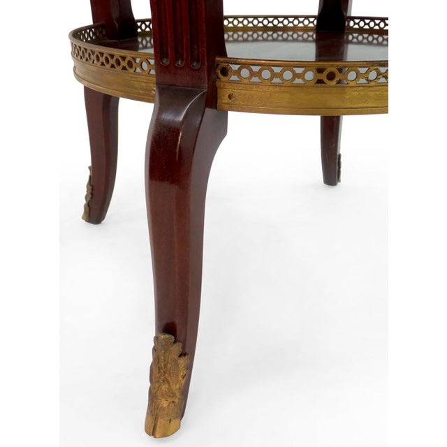 Louis XVI Style Bouillotte Table For Sale In New York - Image 6 of 7