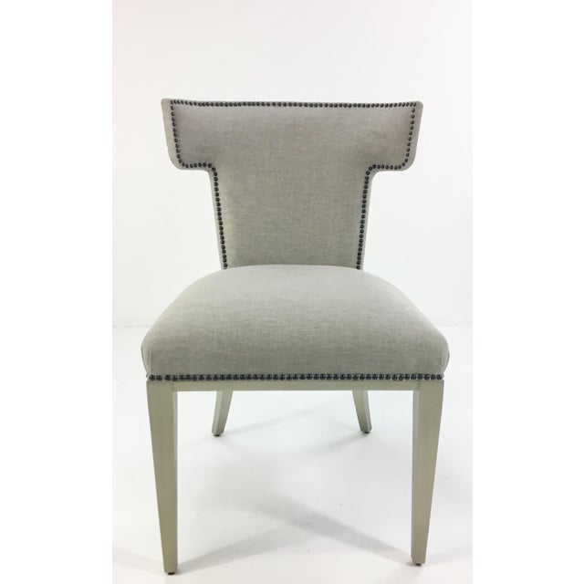 Textile Caracole Uptown Klismos Dining/Desk Chair For Sale - Image 7 of 7