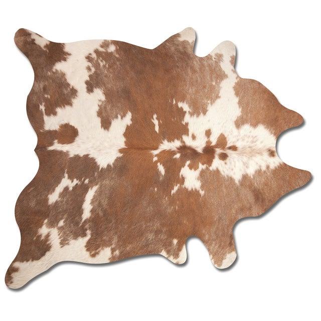 Handmade Cowhide Rug - 6′ × 7′ - Image 2 of 3