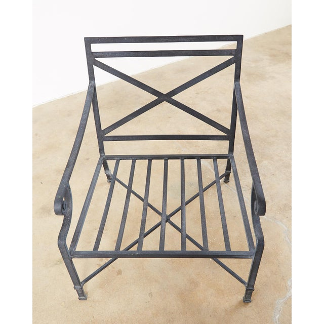 Neoclassical Brown Jordan Venetian Aluminum Patio Lounge Chairs - a Pair For Sale - Image 3 of 13