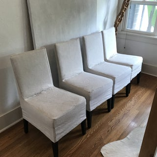 Restoration Hardware Parsons Dining Chairs Set of 4 Preview