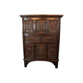 Renaissance Revival Oak Cupboard Preview