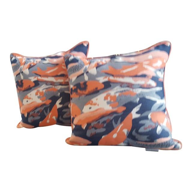 Contemporary Beko Flamingo Pillows - A Pair For Sale