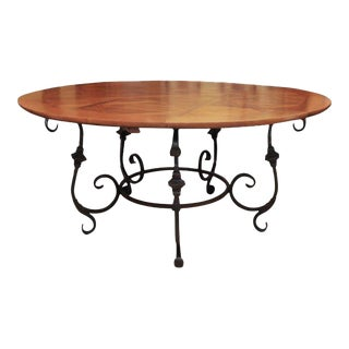 Superb Extension Dining Table DECASO - Circular dining table with extension