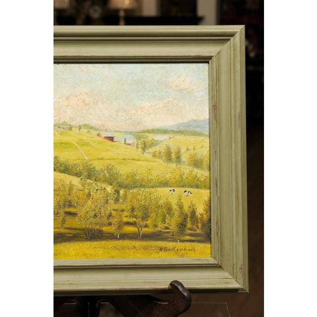 Provençal Pastoral Oil Painting - Image 4 of 7