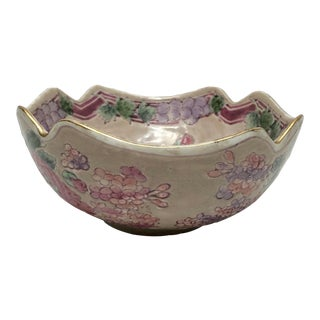 1960s Vintage Chinois Pottery Bowl For Sale
