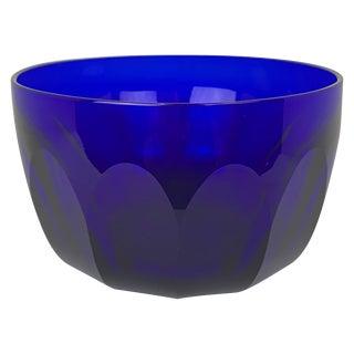 Georgian Bristol Blue Finger Bowl For Sale