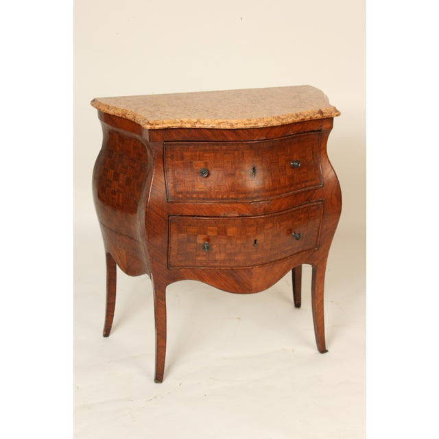 19th Century Louis XV Style Chest of Drawers For Sale - Image 12 of 12