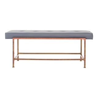 Edward Wormley Brass Bench