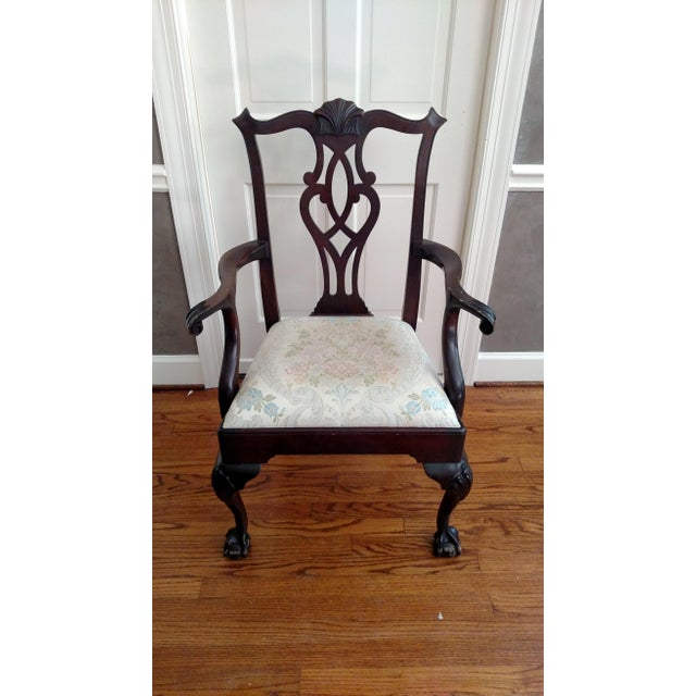 Stickley Mahogany Dining Chair Set - 8 - Image 7 of 9