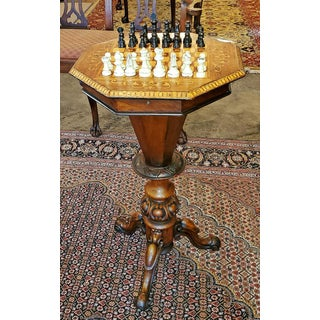 19th Century British Games Top Trumpet Shaped Table Preview