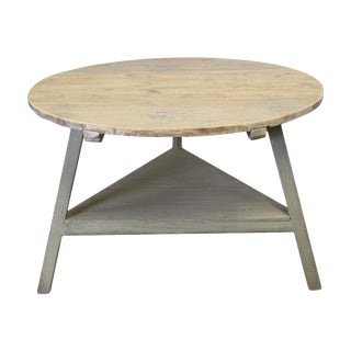 Pine Painted Center Table For Sale