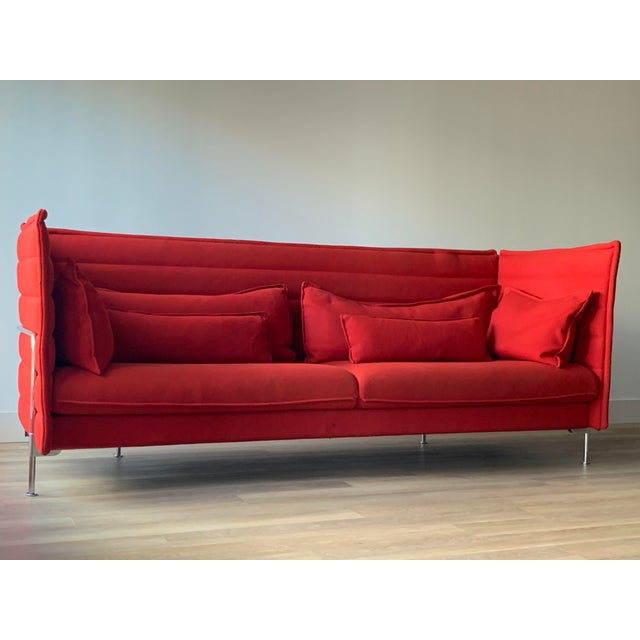2000 - 2009 Ronan & Erwan Bouroullec for Vitra Alcove 3-Seater Sofa For Sale - Image 5 of 10