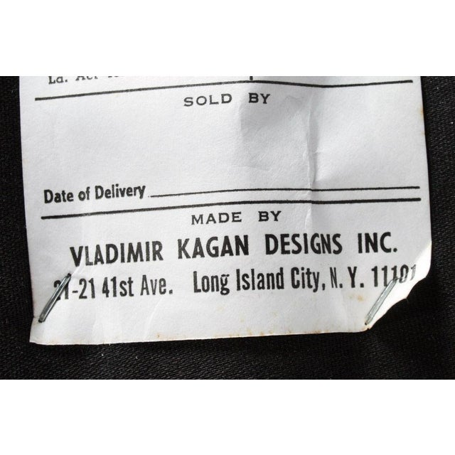 Mid-Century Modern Vladimir Kagan Barrel Lounge Chairs - a Pair For Sale - Image 3 of 7