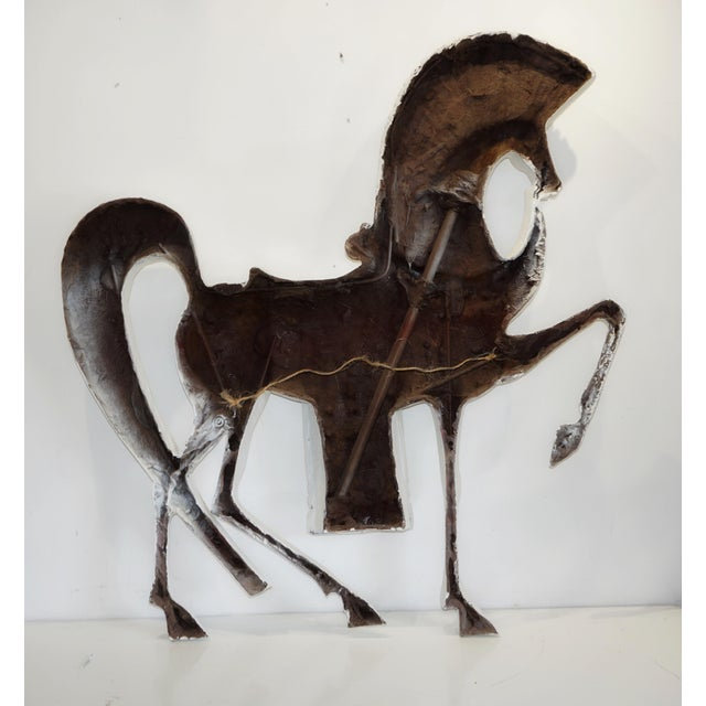 Standing Etruscan Horse in the Style of Frederick Weinberg For Sale - Image 12 of 13