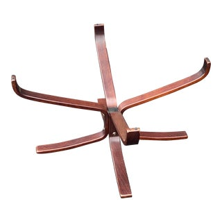 Vatne Mobler Falcon Rosewood Coffee Table Base For Sale