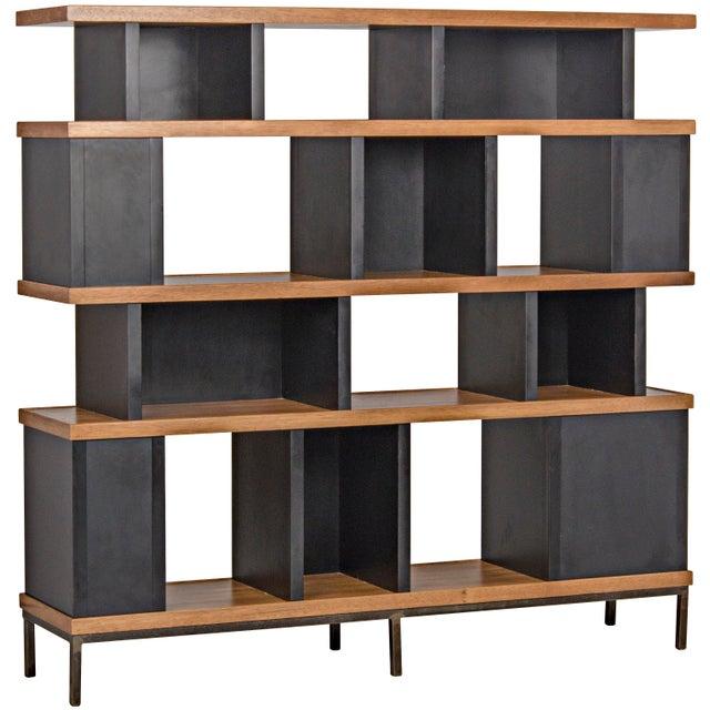 Mid-Century Modern Meier Bookcase For Sale - Image 3 of 3
