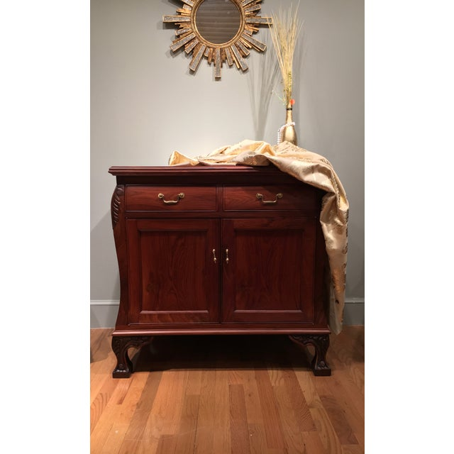 Aurora Solid Rosewood Commode - Image 3 of 8