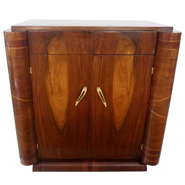 French Art Deco Two-Door Cabinet - Image 1 of 10