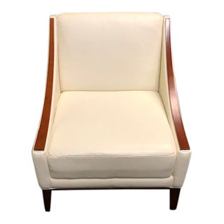 Modern Sleek Modern Club Chair For Sale
