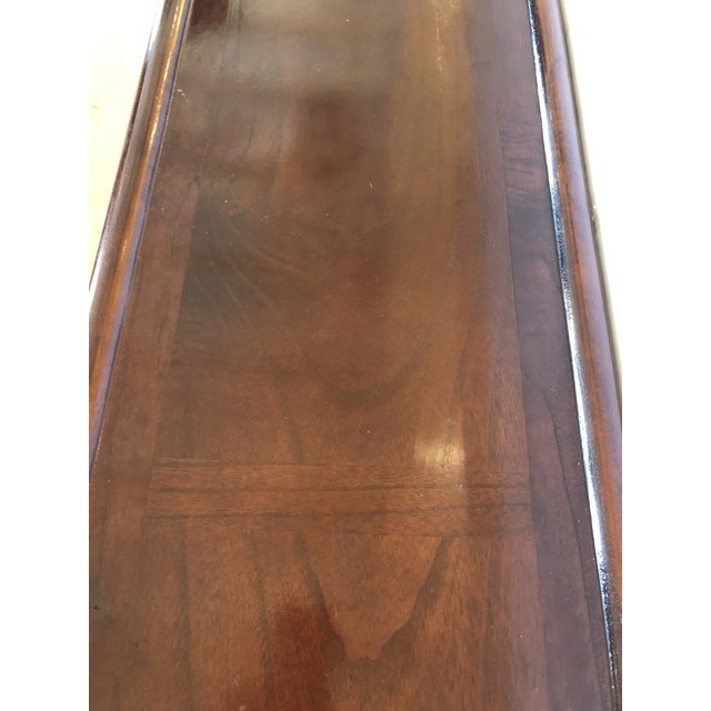 Metal Mahogany Console Sofa Table by Grange For Sale - Image 7 of 13