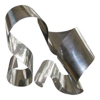 Dan Murphy Abstract Metal Sculpture For Sale