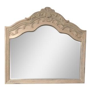 Shabby Chic Tg Design Carved Beveled Mirror