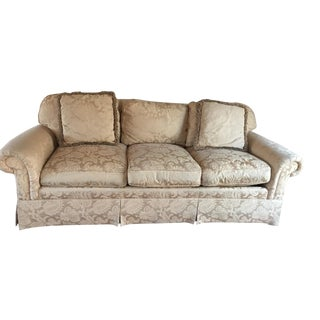 Brocade Sherrill Sofa For Sale