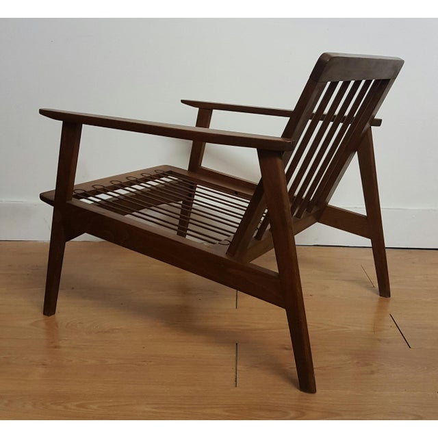 Adrian Pearsall Craft Associates Modern Lounge Chair - Image 5 of 6