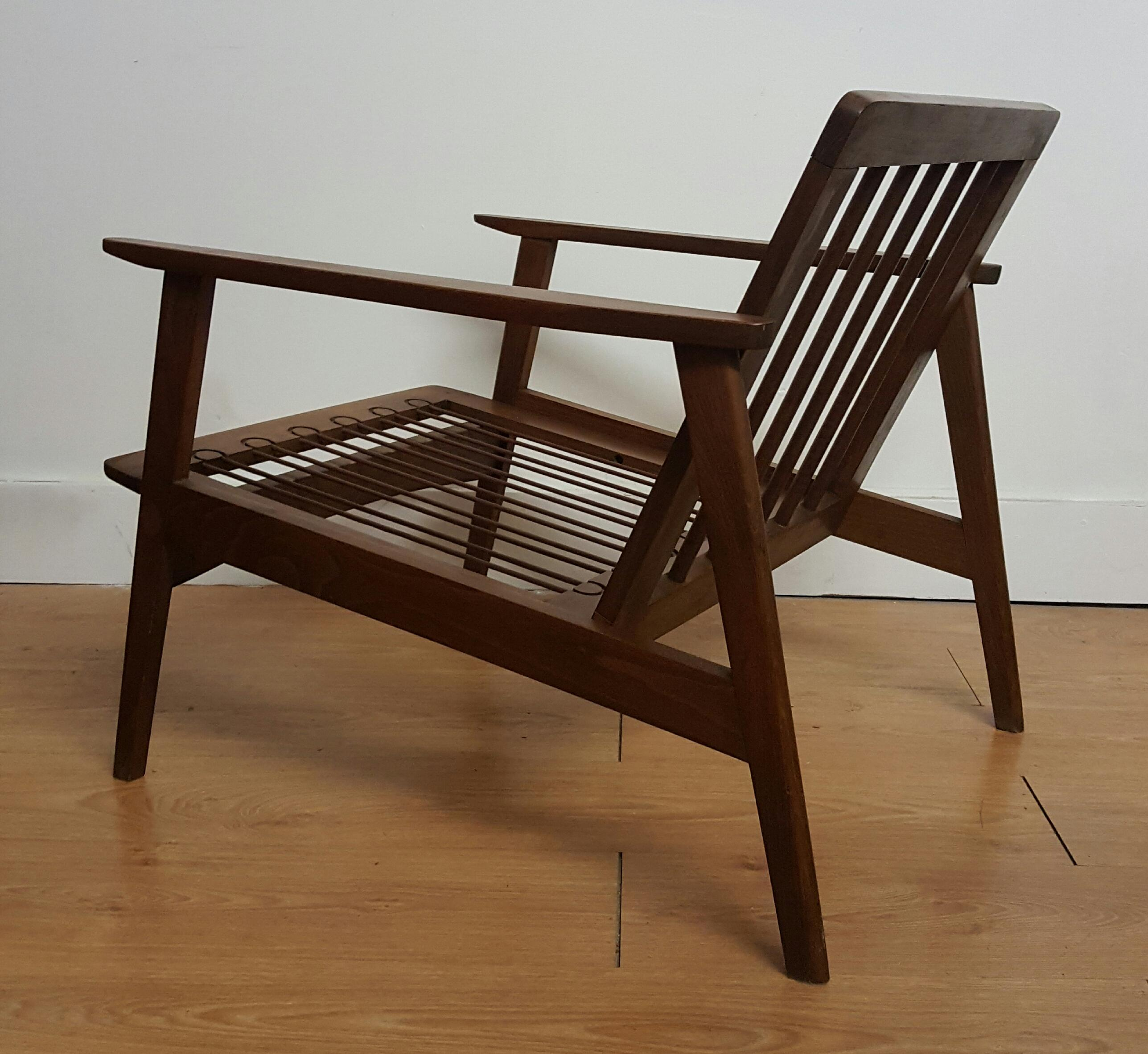 Adrian Pearsall Craft Associates Modern Lounge Chair   Image 5 Of 6