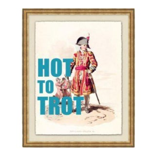 """""""Hot to Trot"""" Framed Print by Jo Sampson For Sale"""