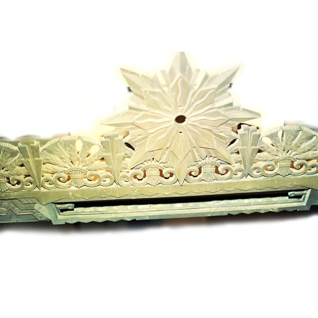 Art Deco Art Deco Bronze/Brass Elevator Door Frame For Sale - Image 3 of 10