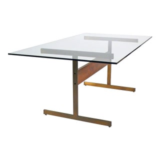 Roland Carter I-Beam Table Desk For Sale