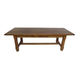 Vintage Rustic Farmer Table For Sale