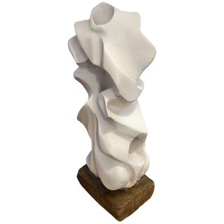 Intricate Plaster Abstract Midcentury Sculpture For Sale