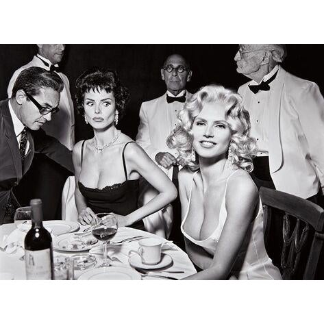 Heidi Klum (as Jayne Mansfield), New York, black and white photography print by Mark Seliger - Image 2 of 3