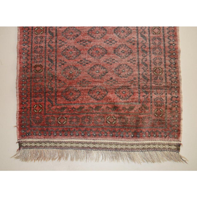 "Vintage Persian Runner- 2'5"" x 7'11"" - Image 7 of 7"