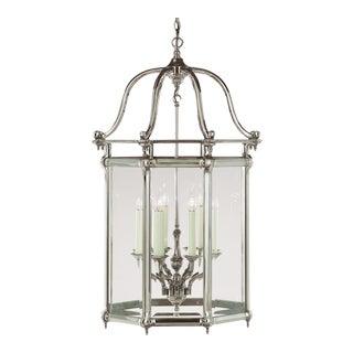 Large Silver Georgian 8-Light Lantern