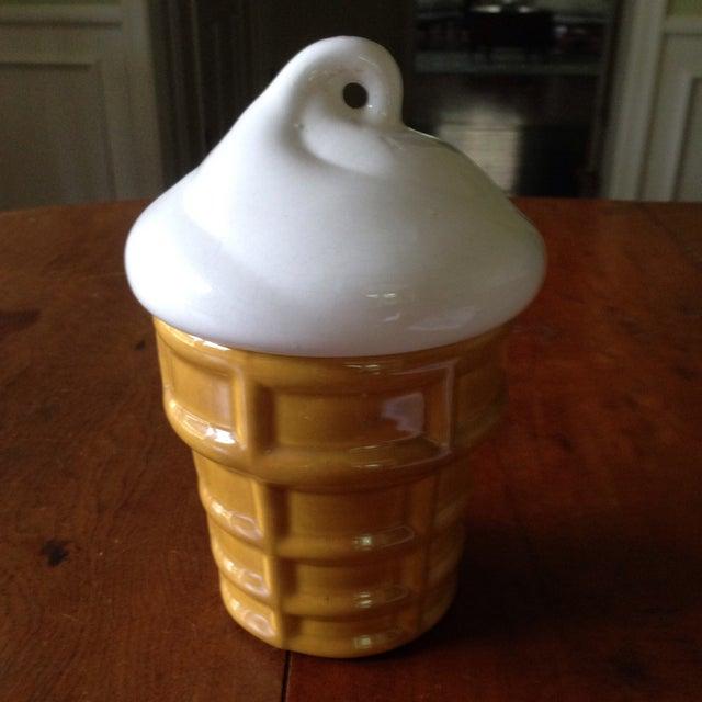 Vintage Ice Cream Cone Cookie Jar - Image 8 of 11